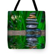 Zen Art And Reflections By Kaye Menner Tote Bag