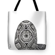 Zen Egg Tote Bag