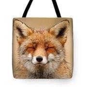 Zen Fox Red Fox Portrait Tote Bag