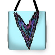 Zen Hearts In Betweens Tote Bag