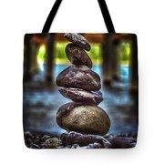 Zen Under The Dock Tote Bag