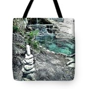 Zen Water Italy Tote Bag