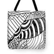 Zendoodle Design Tote Bag