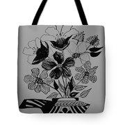 Zentangle 16-01 Tote Bag