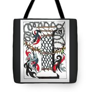 Zentangle Inspired I #1 Tote Bag
