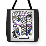 Zentangle Inspired I #2 Tote Bag