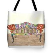 Zentangle Sofa Tote Bag