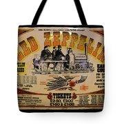 Zeppelin Express Tote Bag