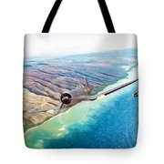 Zero Hour For Pappy Tote Bag