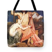 Zeus And Thetis  Tote Bag