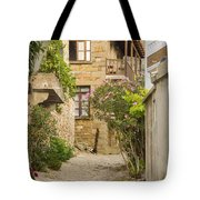 Zeytinli Village Cobblestone Lane Tote Bag