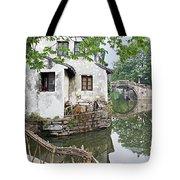 Zhouzhuang - A Watertown Tote Bag by Marla Craven