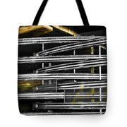 Zig Zag Barrier Tote Bag