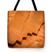 Zigzag Sandstone Tote Bag