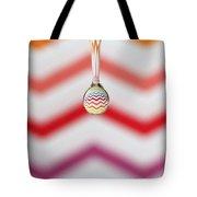 Zigzag Water Drop 3 Tote Bag