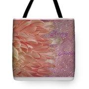 Chrysanthemum Birthday Tote Bag