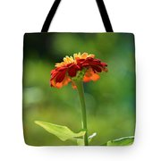 Zinnia Flower Tote Bag