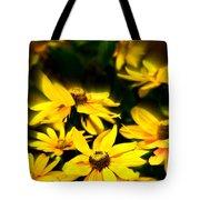 Zinnia Flower Tote Bag