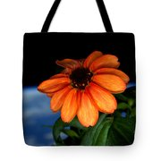 Zinnia Grown On Iss Veggie Facility Tote Bag