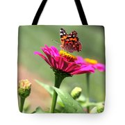 Zinnia Visitor Tote Bag