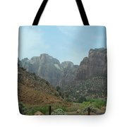 Zion National Park 3 Tote Bag