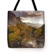 Zion National Park Autumn Tote Bag