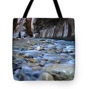 Zion National Park Narrows Tote Bag