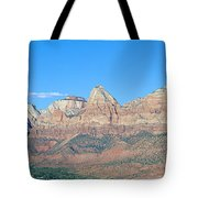 Zion National Park, Valley View Tote Bag