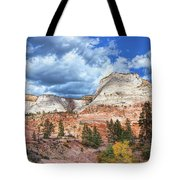 Zion  Promontories Tote Bag