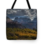 Zion-rock On Tote Bag