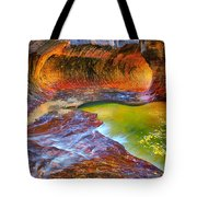Zion Subway Tote Bag by Greg Norrell