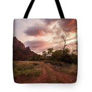 Zion Sunset Tote Bag by Wesley Aston
