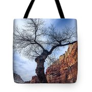 Zion Tree Woman Tote Bag