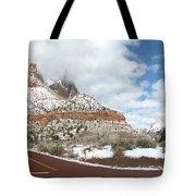 Crossroads, Zion Valley Tote Bag