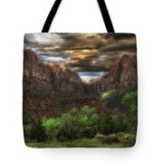 Zion's Morning Tote Bag