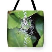 Zipper Spider Tote Bag