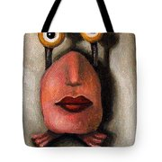 Zoe 1 Little Alien Tote Bag
