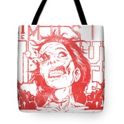 Zombie Music Tote Bag