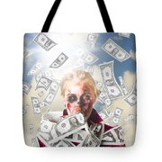 Zombie With Crazy Money. Filthy Rich Millionaire Tote Bag