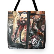 Zombies Attack Tote Bag