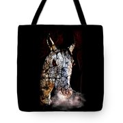 Zombified Horse Tote Bag
