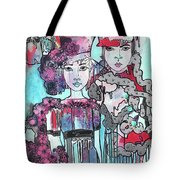 Zoni.girl Haute Couture Tote Bag