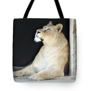 The Queen Of Animals Tote Bag