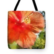 Zoo Flower Tote Bag
