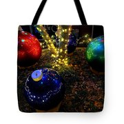 Zoo Lights Ornaments Tote Bag