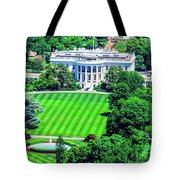 Zoomed In Photo Of The White House Tote Bag