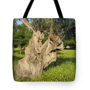 Zoomorphical Olive Tote Bag