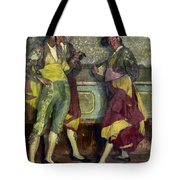 Zuloaga: Bullfighters Tote Bag