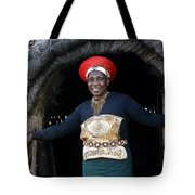 Zulu Woman Tote Bag