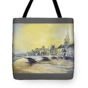 Zurich Sunset- Switzerland Tote Bag